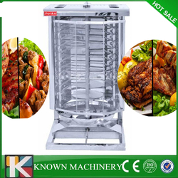 Best seller gas LPG kebab maker turkish bbq grill gas shawarma machine by door to door