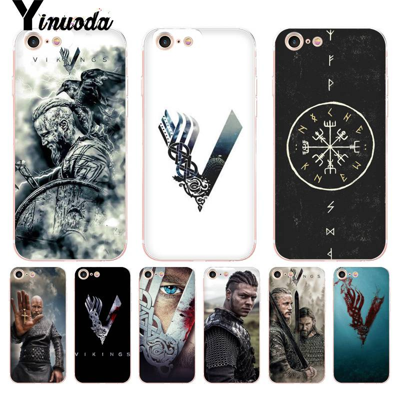 Yinuoda For iphone 7 6 X Case Vikings Series lovely Phone Accessories Case for iPhone 8 7 6 6S Plus X 5 5S SE 5C XS XR Cases