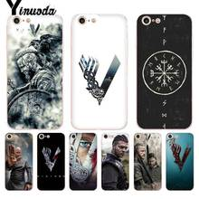 Yinuoda For iphone 7 6 X Case Vikings Series lovely Phone Accessories Case for iPhone 8 7 6 6S Plus X 5 5S SE 5C XS XR Cases цена