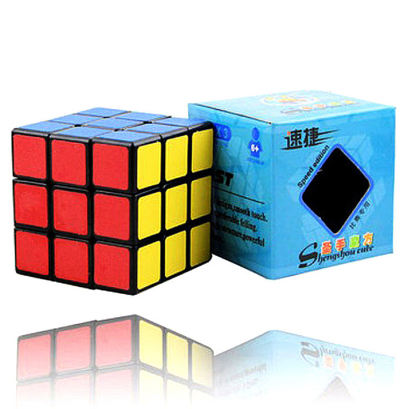 ShengShou 56 MM Cube 3x3x3 Speed Magic Cube 3*3*3 on 3 Layers Cube Toy Professional Neo Cubo Megico cube children kids winter hat scarf set double raccoon fur ball hat pom pom beanies baby girls warm cap scarf set hat for baby girl