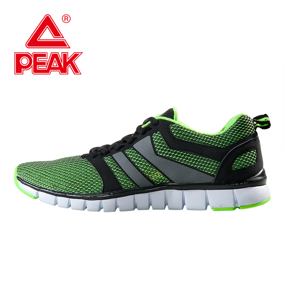 PEAK SPORT Running Shoes Men  Breathable Training Sneakers Spring Summer Mesh Super Light Sports Shoes Athletic Jogging 2017brand sport mesh men running shoes athletic sneakers air breath increased within zapatillas deportivas trainers couple shoes