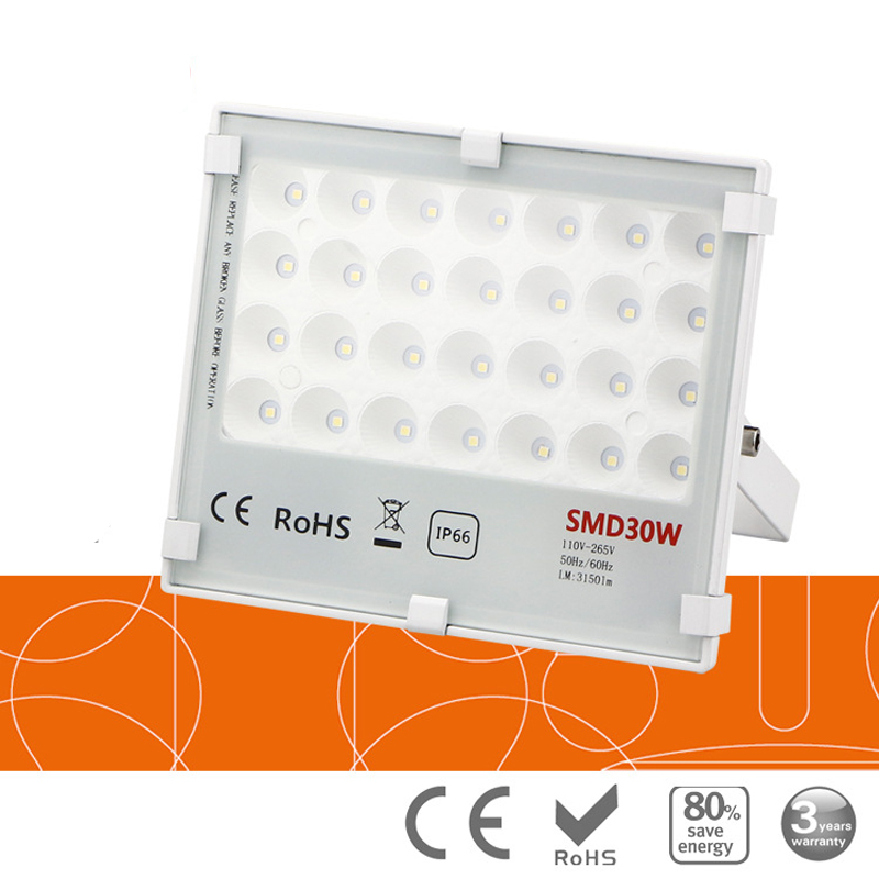 10pcs Untrathin Refletor Foco LED Exterior Flood Light 20w 30w 50W 100W 150W 220V 110V Waterproof Outdoor Lighting Floodlight