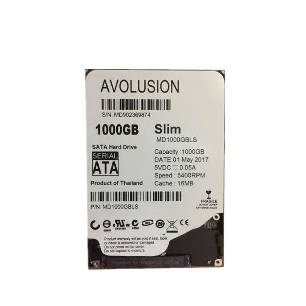 1000 GB 2.5 pouces 7mm mince HDD SATA 6 Gb/s 5400 tr/min 16 mo de garantie de Cache pour 1 an