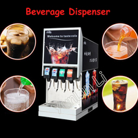 Cola Beverage Dispenser Vending Machines Carbonated Beverage Machine Commercial 4 Valve Adjustment Machine IKLJ 4B4