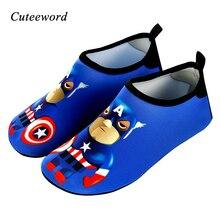 Children Beach Shoes Boys and Girls Swimming Soft Bottom Breathable Wading Barefoot Skin Slip Water Socks Kids Home