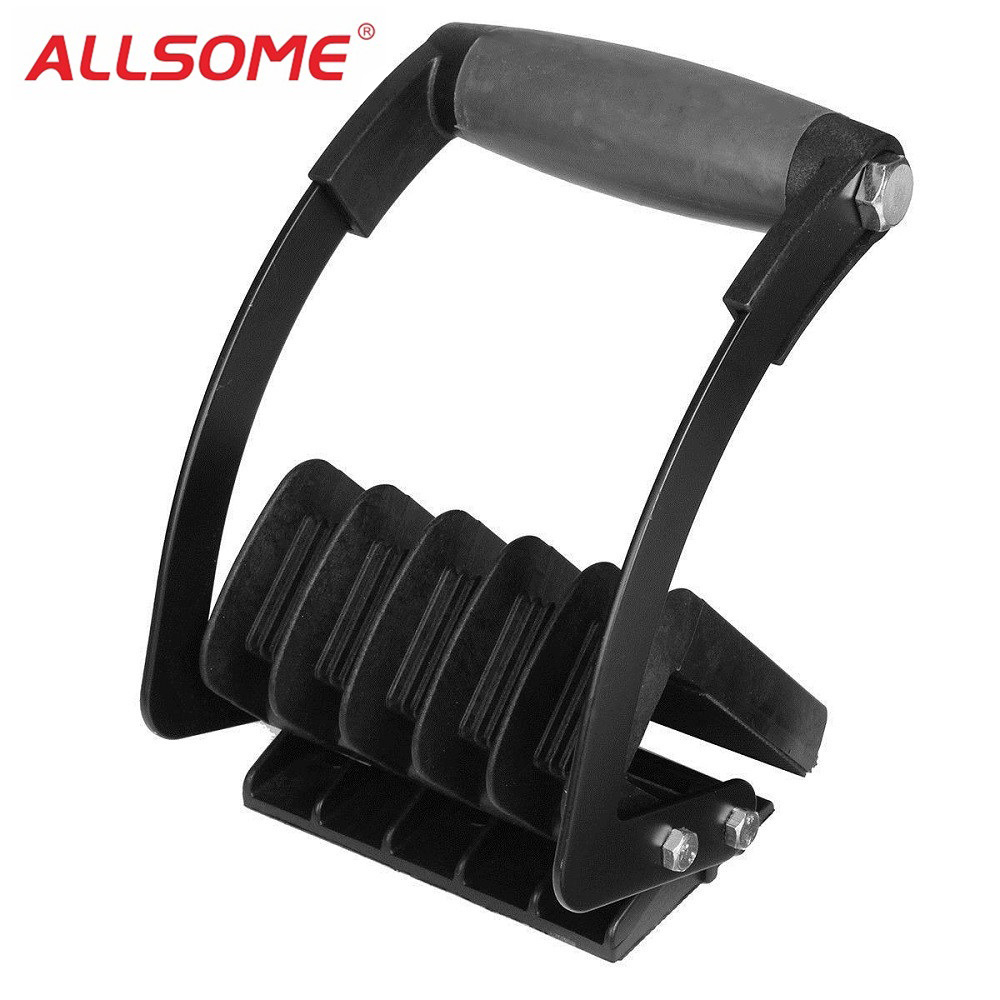 ALLSOME Gorilla Gripper Load bearing 100kg Special Tool Panel Carrier Plywood Carrier Lifter Easy Free Hand HT1956