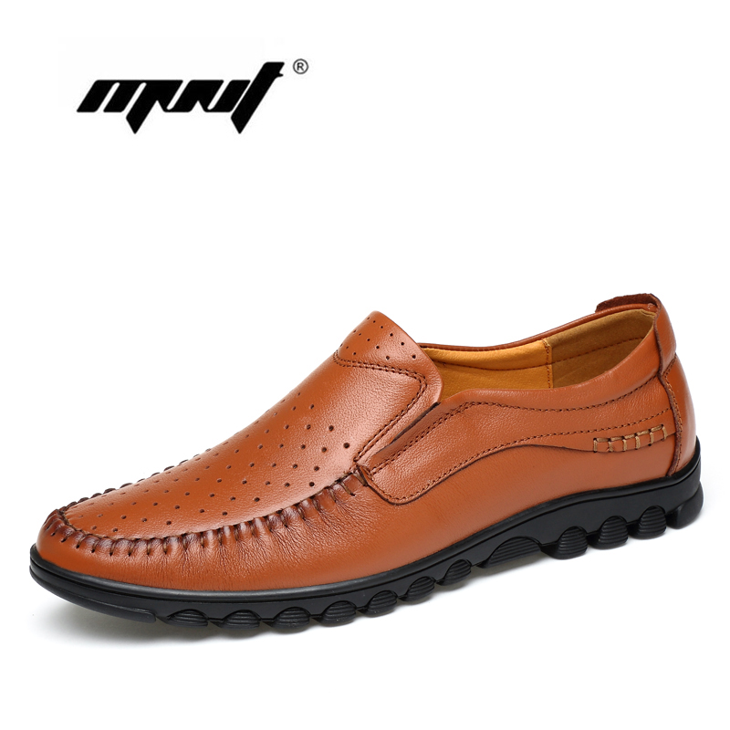 Fashion Full Genuine Leather Men Shoes , Casual Comfortable Men Flats Shoes,Super Soft Outdoor Casual Shoes Chaussure Homme