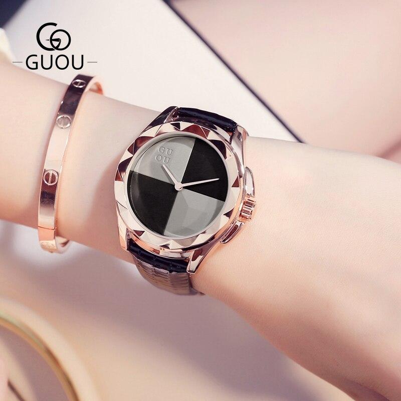 GUOU Watches Fashion Ladies Wat