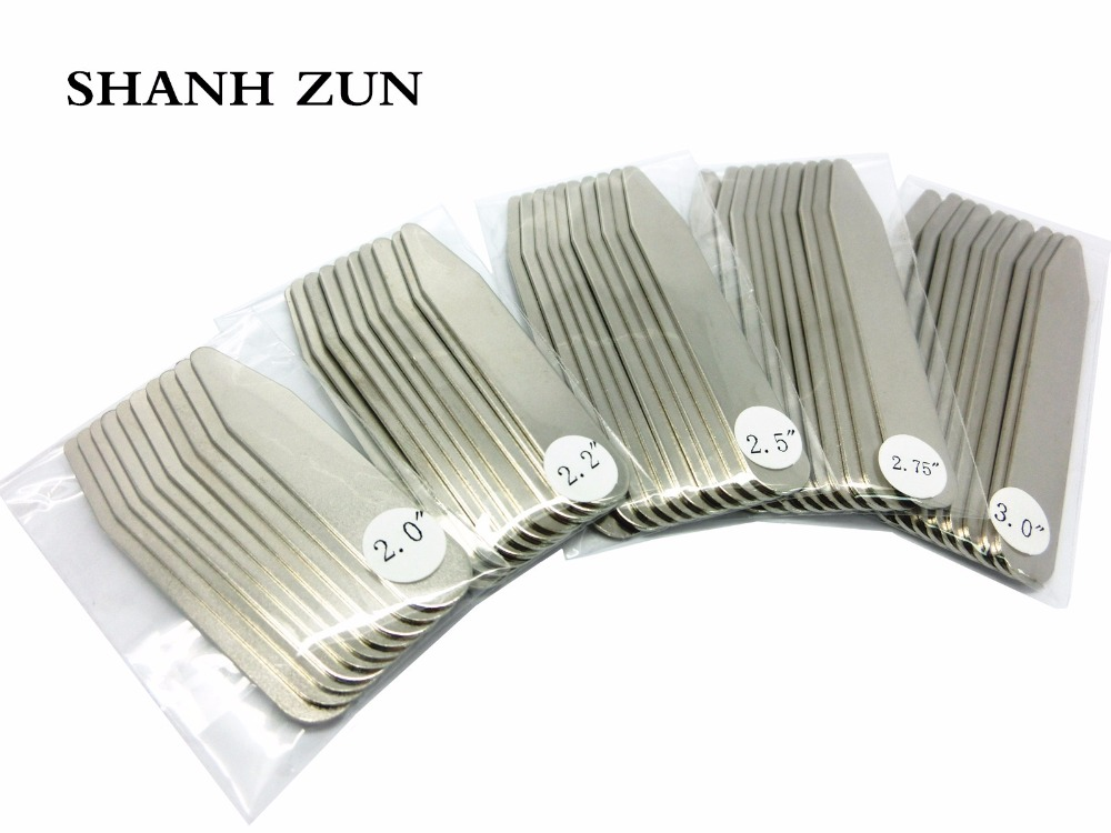 SHANH ZUN 10 Pcs Metal Stainless Steel Metal Collar Stays Shirt Bone Stiffeners Inserts Holiday Gifts for MenSHANH ZUN 10 Pcs Metal Stainless Steel Metal Collar Stays Shirt Bone Stiffeners Inserts Holiday Gifts for Men