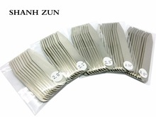 SHANH ZUN 10 Pcs Metal Stainless Steel Metal Collar Stays Shirt Bone Stiffeners Inserts Holiday Gifts for Men shanh zun personalized customize engraved stainless steel metal collar bones shirt tabs stiffeners inserts golden gift for men