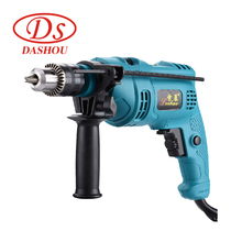 купить DS Multi-function Impact Drill 220V Household Pistol Drill Dual-use Variable Speed Reverse Electric Hammer Drill Wall Tool 1PC дешево