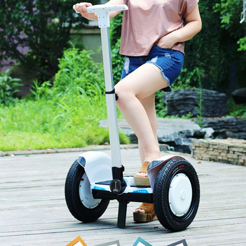 Dual Control System Newest Two Wheel Smart Powered Unicycle Self Balance Scooter Electric Kick Giroskuter Scooters for Sale