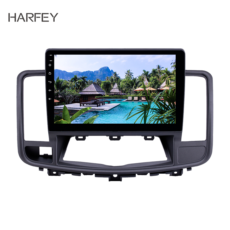 Flash Deal Harfey 10.1 inch for 2009-2013 Nissan Old Teana Android 8.1 2 din Head Unit GPS Radio with AUX WIFI support OBD2 DVR SWC Carplay 0