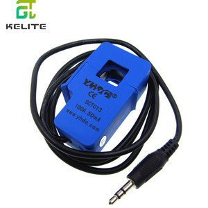 Image 2 - 5pcs SCT013 50A 100A SCT 013 000 Non invasive AC current sensor Split Core Current Transformer