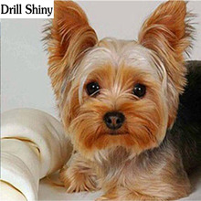 Diamond Embroidery,Animal,Yorkshire Terrier Dog Painting,Cross Stitch,Diamond Mosaic,Needlework,Crafts,Christmas v97