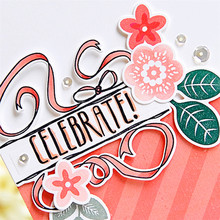 Eastshape Celebrate Dies Metal Cutting Cut Die Mold Decoration Scrapbook Paper Craft Knife Mould Blade Punch Stencils