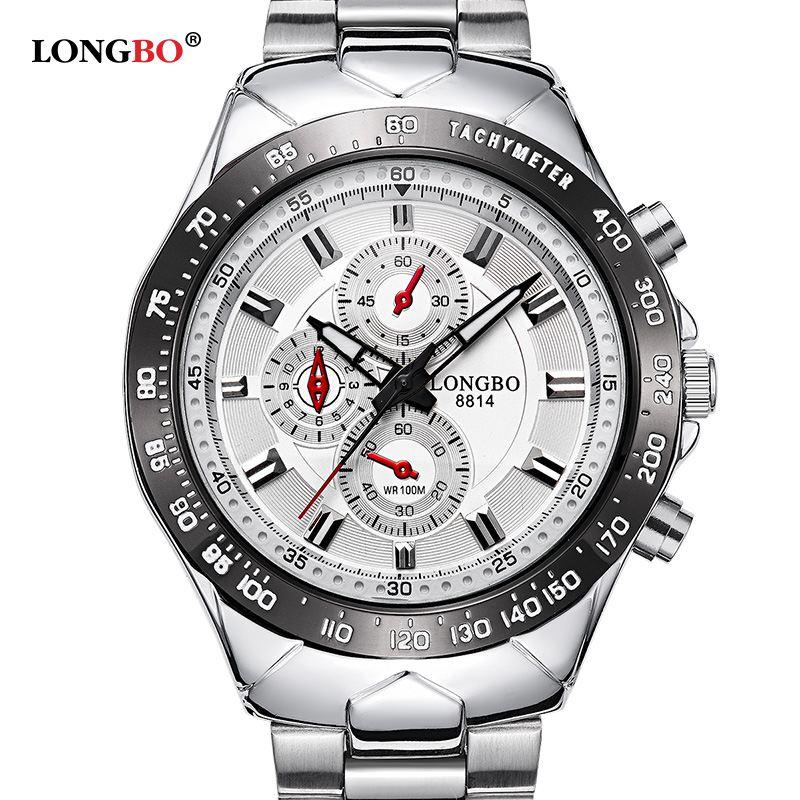 LONGBO watches men quartz watch relogio masculino luxury military wristwatches fashion casual water Resistant army sports 8814 цена и фото