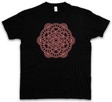 Cotton Shirts  MANDALA IV T-SHIRT Yantra Hinduism Buddhism Hindu Shiva Buddha Dharma Govinda Plus Size Casual Clothing