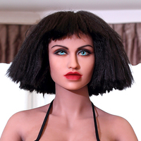 Nova WMDOLL 174 # boneca sexo oral, cabeça da escova cabeça de manequim, TPE bonecas sexuais cabeça para 140 cm-168 cm de Altura de corpo inteiro