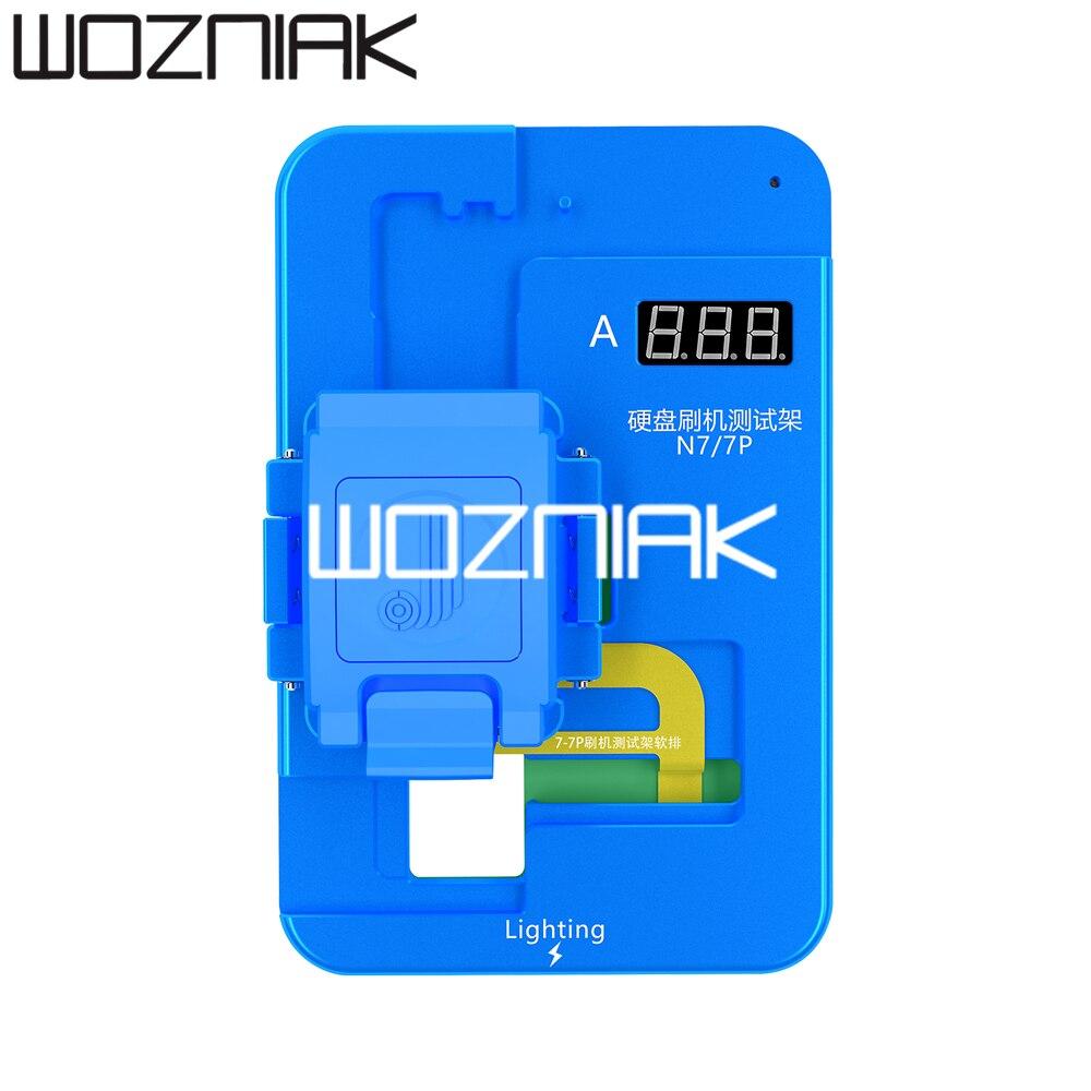JC Nand accesorio de prueba N7 N8 NX para iPhone 7 7P 8 8P batería libre cepillado Disco Duro Auto detección - 2
