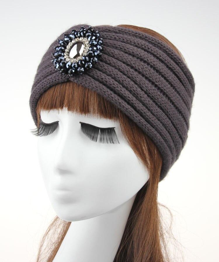 Wholesale Women Crochet Wool Headband Knit Hair Band Headbands Winter Ear  Warmer Hair Accessories Womens Winter Accessory-in Hair Accessories from  Mother ... d8719f10dfc