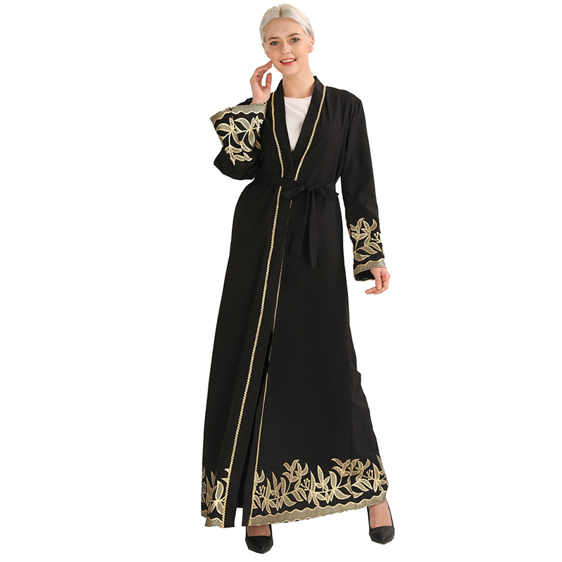 Abaya Dubai Kaftan Arabic Turkey Islamic Cardigan Muslim Hijab Dress Caftan Abayas For Women Robe Musulmane Ramadan Elbise Giyim