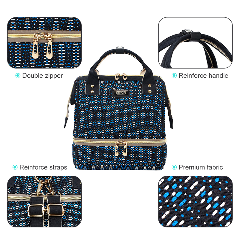 HTB19MpHd8WD3KVjSZKPq6yp7FXaH Diaper Bag Mummy Maternity Bag For Baby Small Waterproof Baby Nappy Changing Backpack For Moms yoya Stroller Organizer Baby Bag