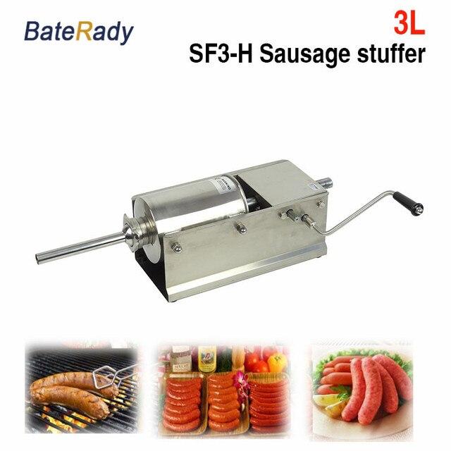 SF3 H BateRady Horizontale Wurst Stuffer, edelstahl wurst stuffer ...