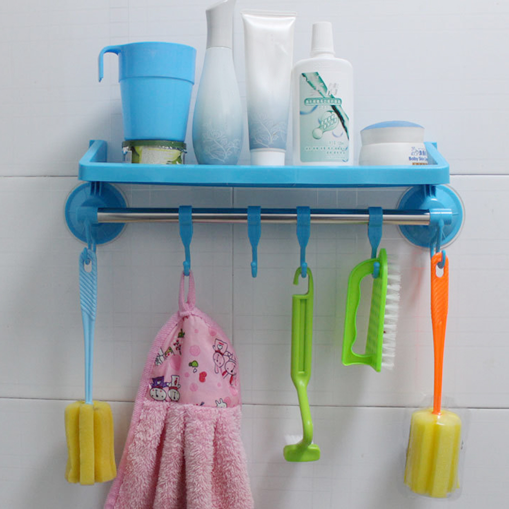 Best Price Home Bathroom Kitchen Plastic Shower Gel Storage Rack ...
