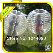 New, Amazing 1.2/1.5/1.7m top quality 0.8mm PVC zorb bumper ball ,zorb bumper