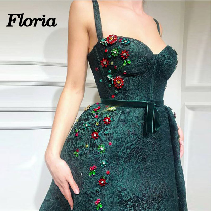 Elegant African Green Lace Evening Dresses Dubai Turkish Arabic Pageant  Dress Glitter Formal Prom Mermaid Gowns Robe de soiree-in Evening Dresses  from ... 4a41c91907cd
