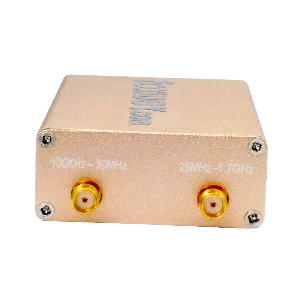 Nouveau SDR RTL2832U R820T2 HF réception 100 K-1.8G TXCO 0.5 PPM SMA logiciel défini radiofréquence précise - 2