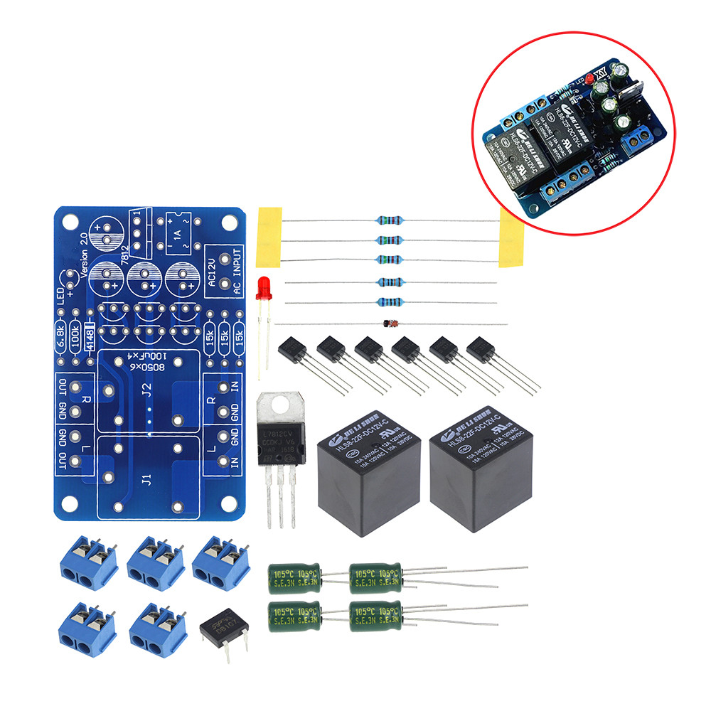Digital Watch Electronic Clock Kit Single Chip Led Watches Fm Wireless Microphone Available At Kits Robot Audio Speaker Protection Board Components Boot Delay Dc Protect Diy For Stereo Amplifier Gauge Breadboard Double Channel Priceusd 338