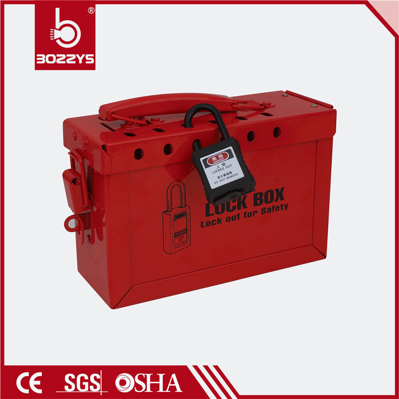 Steel plate common lock box Small hand lock box with stainless steel handle 12 locks simultaneous management station BD-X02Steel plate common lock box Small hand lock box with stainless steel handle 12 locks simultaneous management station BD-X02