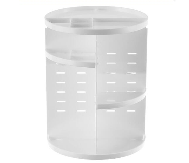 Fashion 360 degree Rotating Makeup Organizer Box Jewelry Makeup Cosmetic Storage Box in Storage Holders Racks from Home Garden