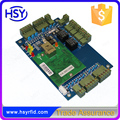 Free Software+web server Security 2-door Network Access control board get in and out door can by RFID Reader