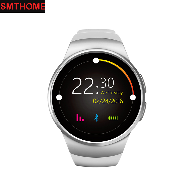 KW18 Bluetooth Smart Watch Full Screen Support TF SIM Card Smartwatch Phone Heart Rate Health Tracker for ios Android phone hot sale smart watch charming l6 sim card ips round screen stainless steel bluetooth smartwatch push or ios android phone high