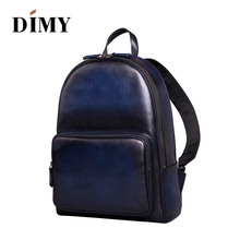 DIMY NEW 2018 Designer Backpack Waterproof Casual Multifunction 15 inch computer Fashion Chest Pack Bags For Men Women