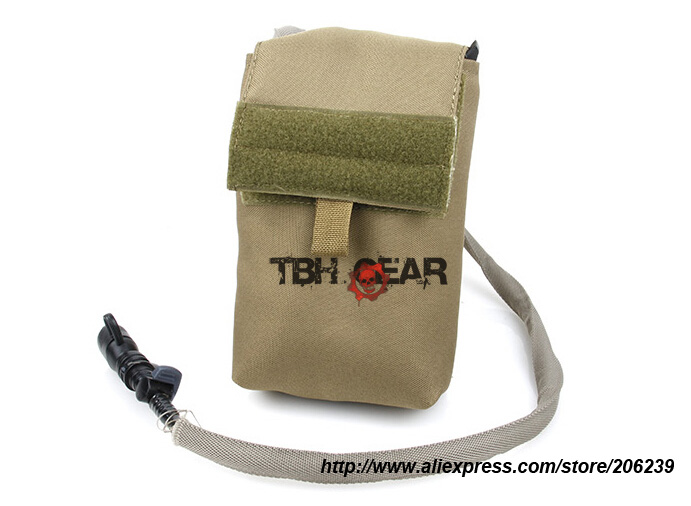 ФОТО TMC 27OZ Hydration Pack Coyote Brown MOLLE Military Tactical Hydration Pack+Free shipping(SKU12050396)