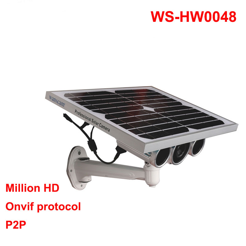 Wanscam HW0029-3 Built-in Battery P2P AP ONVIF Wireless Outdoor HD Solar Power