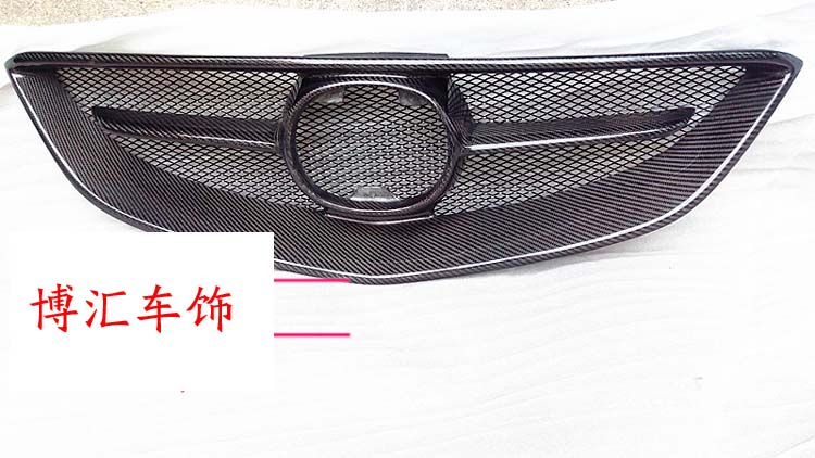 Car Front carbon fiber bumper Grill grille for MAZDA 6 14 ATENZA m6| | |  - title=