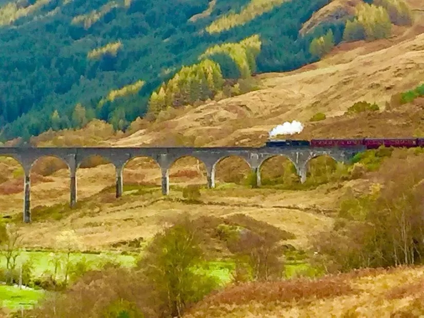 苏格兰印象之十日谈第七天:此景只应天上有,威廉堡-格林芬南大桥-天空岛