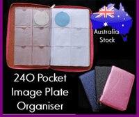 3 Colors High Quality 240 Pocket Image Plate Organiser Holder Folder Case Bag Nail Art Stamping