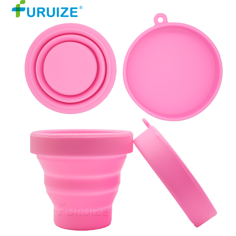 Menstrual Cleaning cup Recyclable Sterilizing Cup flexible Sterilizer Menstrual Cup Collapsible Feminine Hygiene Sterilizer Cup