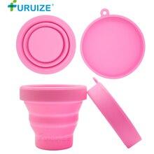 Menstrual Cleaning cup Recyclable Sterilizing Cup flexible Sterilizer Menstrual Cup Collapsible Feminine Hygiene Sterilizer Cup