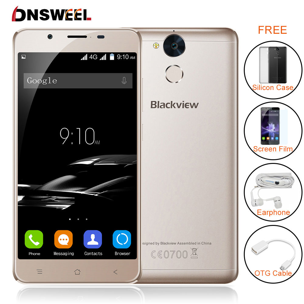 Blackview P2 Cell phone 4GB RAM 64GB ROM Android 6 0 smartphone MT6750T Octa Core 5