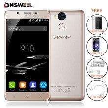 Blackview P2 Сотовый телефон 4 ГБ RAM 64 ГБ ROM Android 6.0 смартфон MT6750T Octa Ядро 5.5 дюймов FHD 6000 мАч Мобильный Телефон 13MP камера