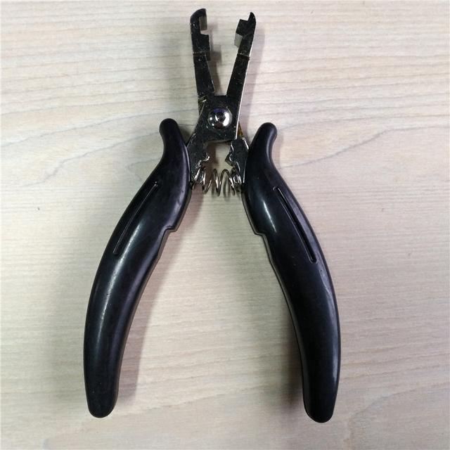 Heat Fusion Glue Keratin Bonding Micro Rings Removal Pliers For Hair