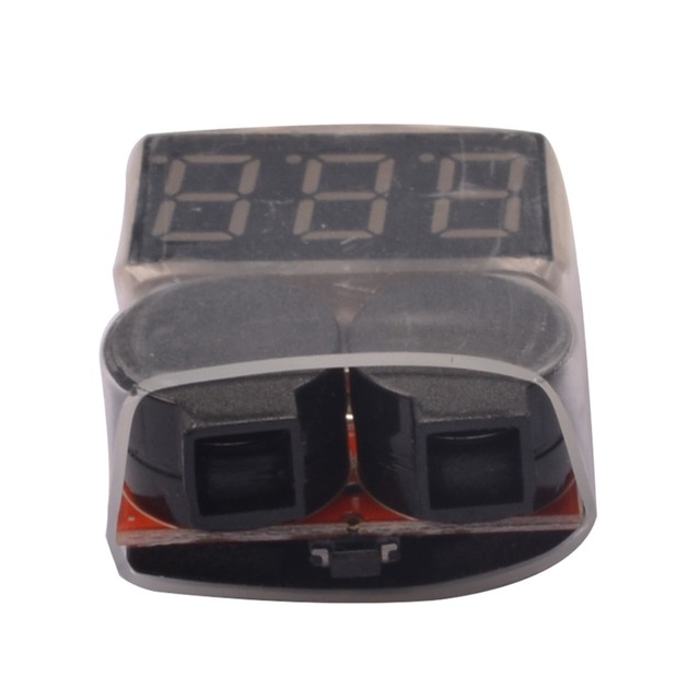 YAGO 50pcs/1-8S Lipo/ RC helicopter airplane boat Battery Voltage 2 IN1 Tester Low Voltage Buzzer Alarm Free shipping Wholesaler