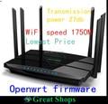 Tp-link маршрутизатор Арчер C7 v2 английский прошивка openwrt wi-fi маршрутизатор 1750 Мбит Dual Band Gigabit беспроводной маршрутизатор wi-fi